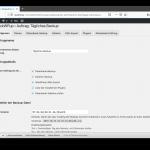 BackWPup Konfiguration Dateien