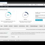EWWW Image Optimizer Konfigurationsübersicht