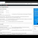 Q2W3 Fixed Widget Einstellungen