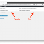 Simple Redirects Konfiguration