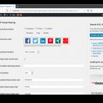 WP Social Sharing Konfiguration
