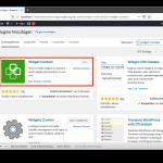 Widget Context - Installation