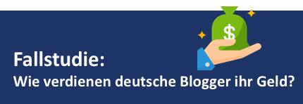 Wie deutsche Blogger Geld verdienen - Fallstudie 2020
