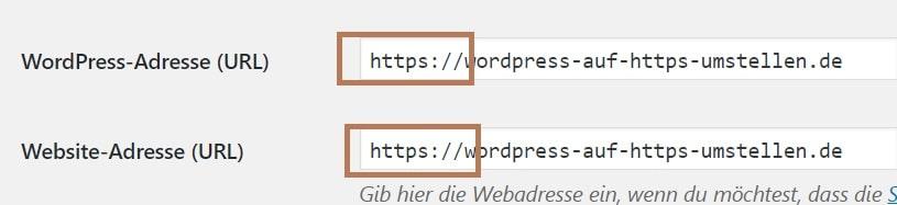 Wordpress auf HTTPS umstellen - Permalinks anpassen